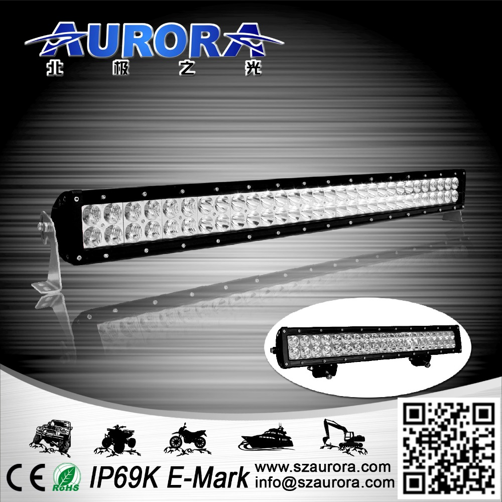 fuxin atv parts 30 inch double row 4d led light bar