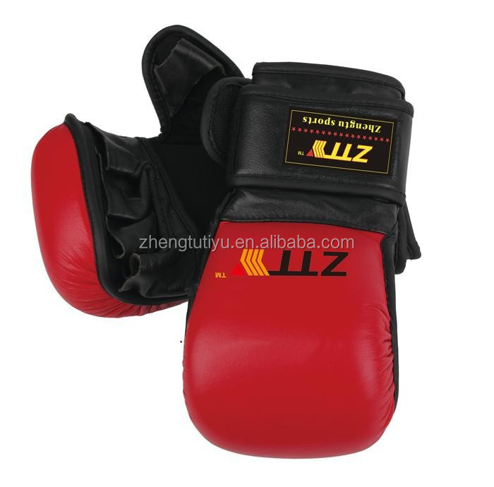 durable high quality ufc used mma gloves plain mma gloves