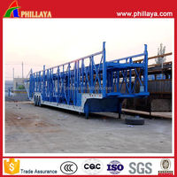 Heavy duty vehicle,car carrier Semi Trailer(Skeleton,Close-ended,Semi-enclosed type optional