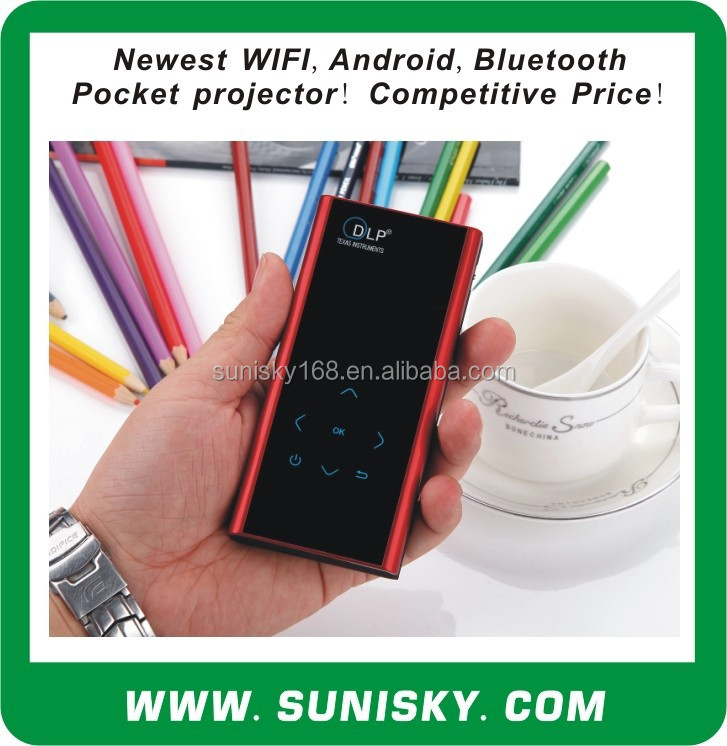 multifunctional Bluetooth + WIFI mini projector (SMP7052)