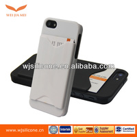 Plastic Functional Phone Case with Card Holder for IPhone 5/5S