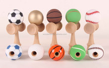 Wholesale High Quality Football Wooden Kendama Toy