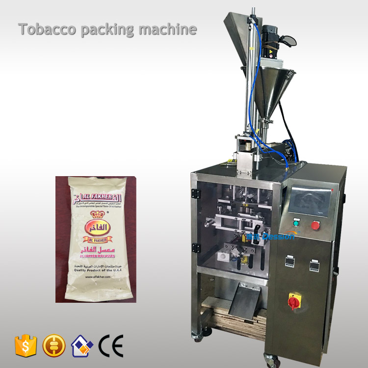 China automatic sachet shisha tobacco filling sealing machine price sticky molasses packing machine supplier