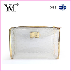newest pvc clear bag with zipper