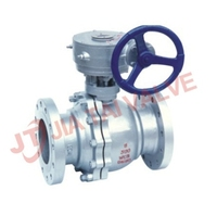 API Metal sealed Worm Gear Ball Valve DIN API ANSI