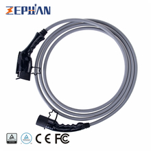 32A SAE Connector 32A Cable J1772 to 62196-2 32A 3P EV Wire