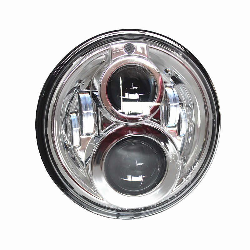 Jeeep Wrangle Car 7 inch round headlight Harley Motorcycle led Light headlamp With Parking light Position lamp for harley Wrangl