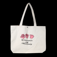 Customized Wholesale Standard Size Cotton tote bags no minimum