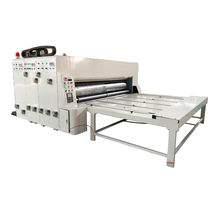 New Factory price 2 3 4 5 color automatic corrugated paperboard cardboard paper carton box flexo slotter printing making machine