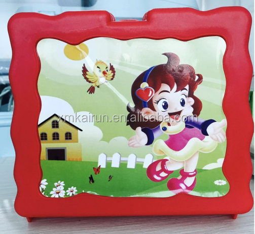 plastic lunch box with handle for kids
