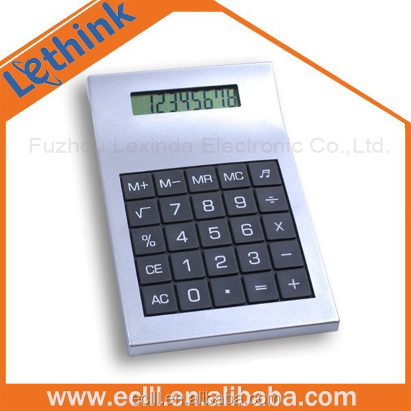 Big size 8 digit table calculator for promotion