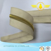 Manufacturer Wholesale 3#5#7#8#10# Nylon Zipper with Silver Teeth