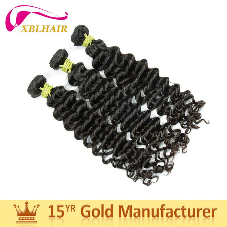 Your Supplier XBL hair full cuticles intact and aligned jazz wave hair