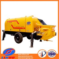 Performance concrete pumping and portable cement pump with factory price for sale
