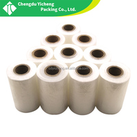 Factory Sale Casting LLDPE/PVC Packaging shrink Wrap Stretch Film Cling Wrap Film plastic roll film