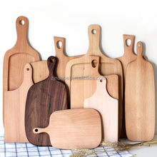 Custom logo eco-friendly fsc wood chopping blocks wooden kitchen cutting boards