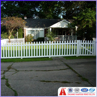2014 hot sale vinyl clad fencing