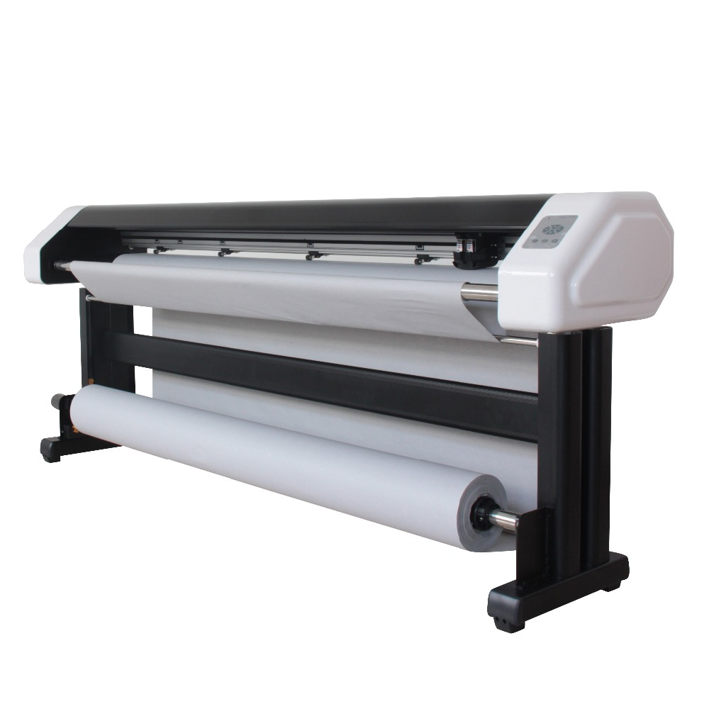 Industrial double spurts ink T-shirt printer inkjet plotter