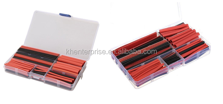 150 Pcs Colorful Halogen Free Insulating sleeve Heat Shrink Tubing Sets