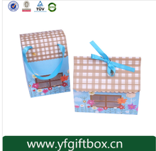 Custom paper cupcake box high quality recycled cupcake packaging 4 holes cupcake box