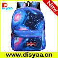 2015 China factory galaxy school backpacks for university students