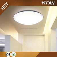 IP44 indoor new style radar motion sensor led ceiling light with emergency