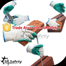 SRSAFETY Factory Sale Cheap Prices,latex knit glove econmic cheap gloves safety equipment