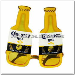 wholesale Beer bottle shape sunglasses for party