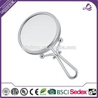 New design standing glamour plastic cosmetic mirror for wholesales