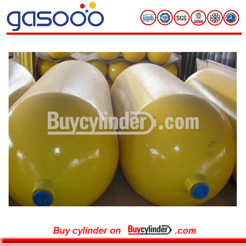 ISO11439 Standard 65L Type 1 CNG Tank for car