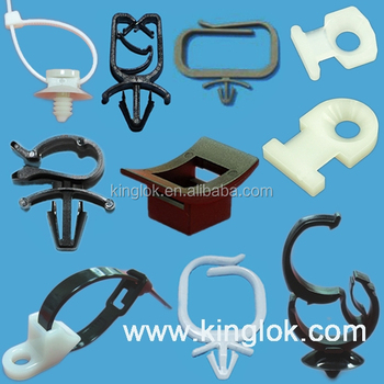 nylon wire mount cable tie mount Push barb mount cord clip nylon cable tie mount