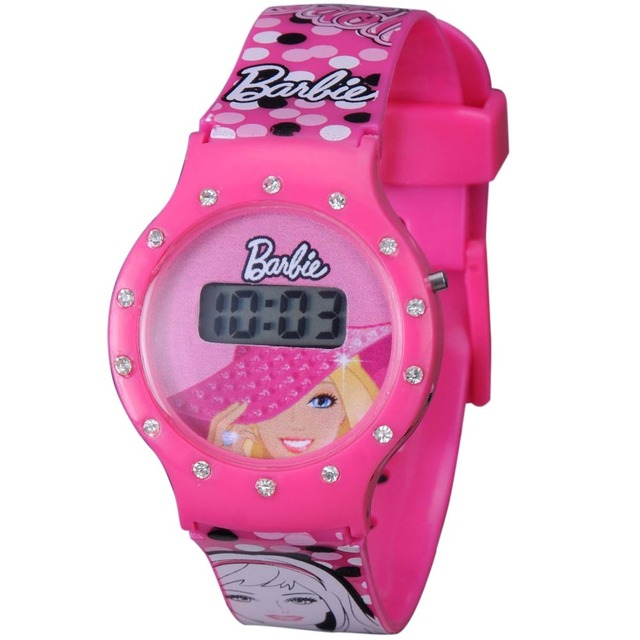 Little Kids Most Favorable Shining Crystal Stones Digital Watch
