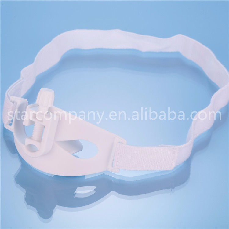 guangdong zhanjiang star flexible tube holder with adjustable neck band has Velcro