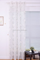 2015 New Design for burnout winndow curtain with lead band Free shipping!