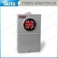 20A single phase high quality best selling electric square meter socket base products in America