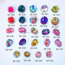 Latest Nail 3d nail art fashion stone product for girls fronm China art supplies