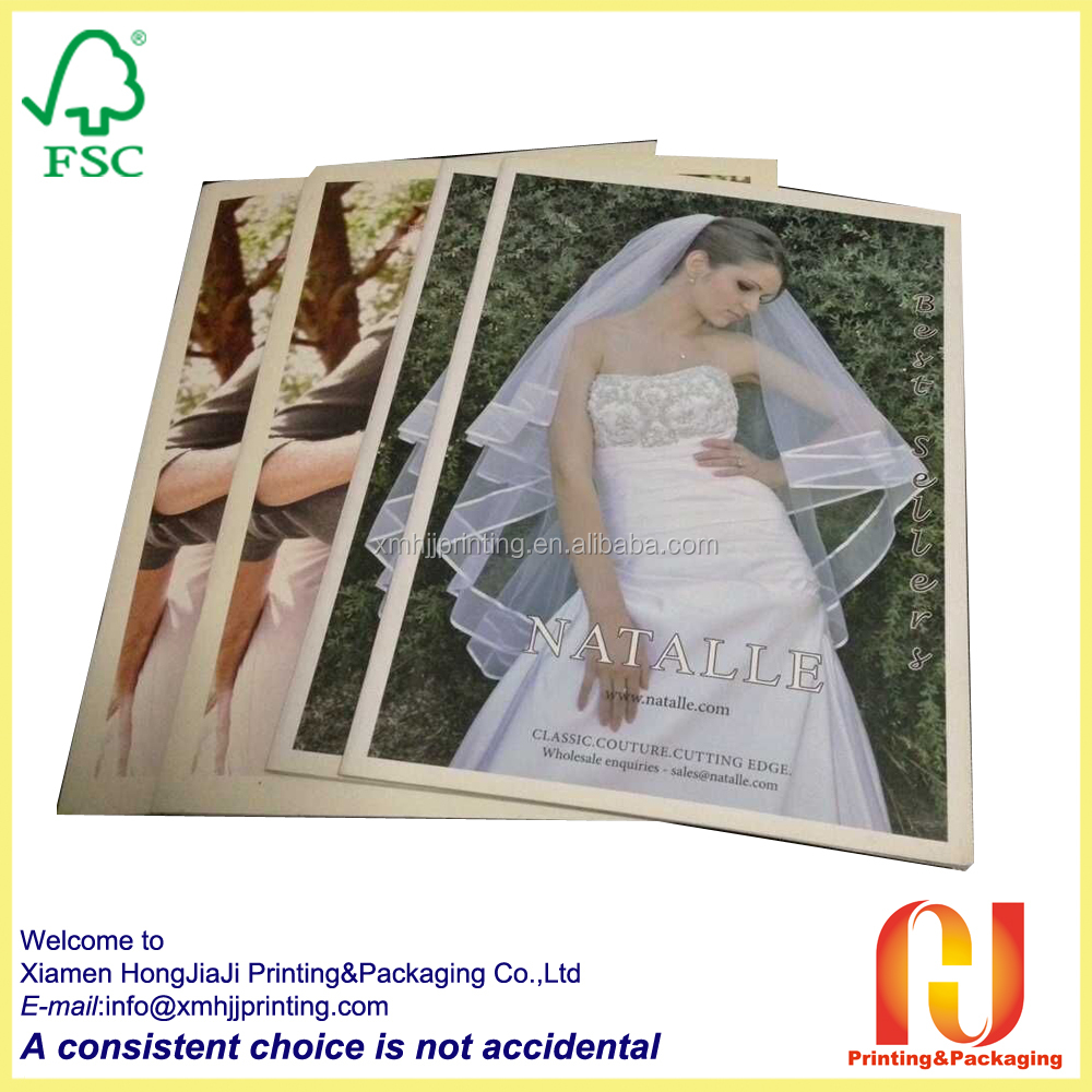 low cost print A3 catalogue in China