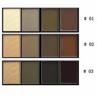 Wholesale new style eyebrow powder palette makeup eyebrow cream
