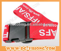 polyester Material and Belt Type luggage belt digital lock