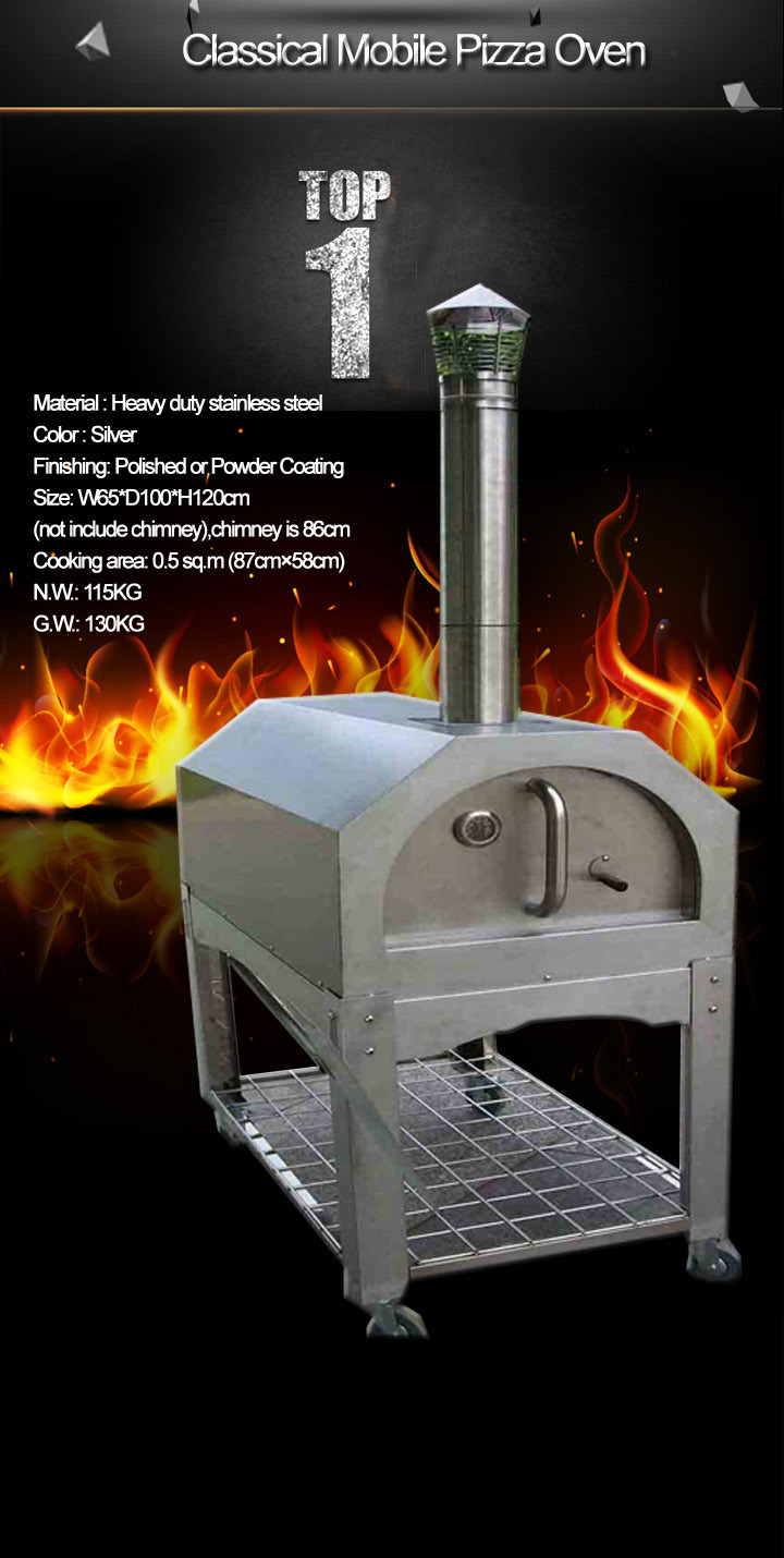 fast coal fired pizza oven
