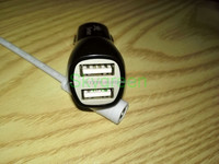good quality real 2.1A dual usb charger for iPad