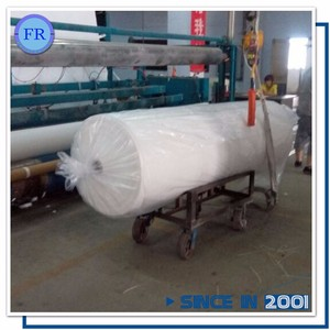 Excellent permeability 300g geotextile mat for Road Railway stabilization