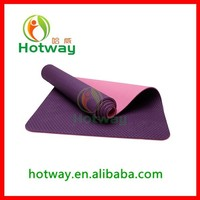Eco Material TPE Disposable Decorative German Yoga Mat With Export Quality