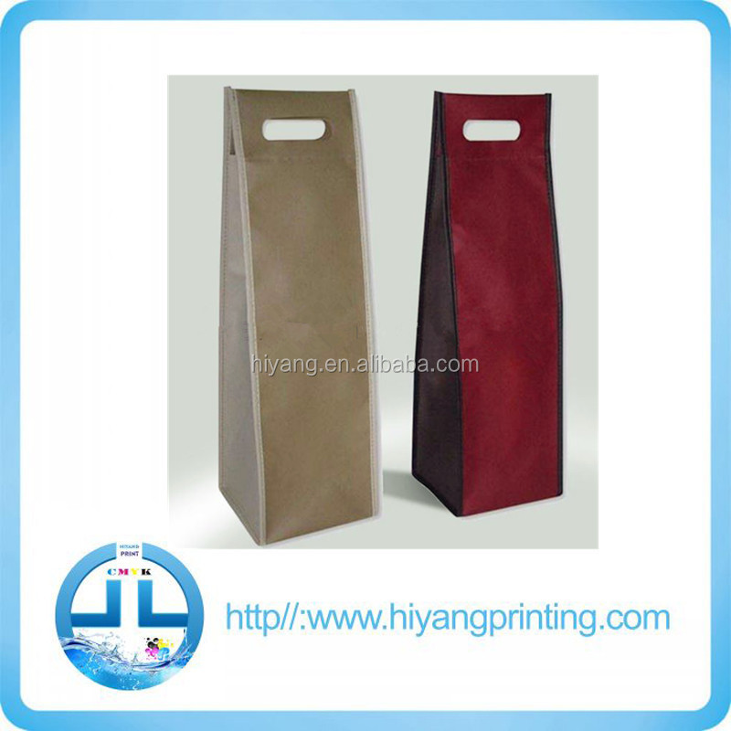 China manufacturer wholesale popular pp non woven wine bag for packaging