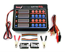 imax quattro b6 Digital Quad Charger for 1S to 6S (3.7 - 22.2V) lipo battery packs