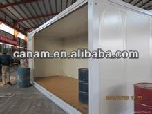CANAM-Extensible Sandwich Panel Container Shop/Coffee Bar