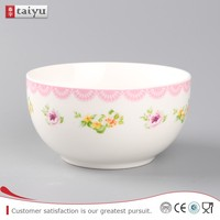 2015 hot sale wholesale porcelain bowl , ceramic salad bowl