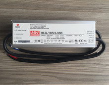 Meanwell Supply Power HLG-185H-36B, 185W 36V 5.2A led driver