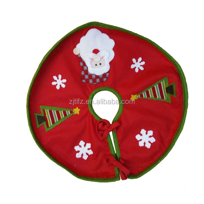 Made in China Christmas Tree Skirt Christmas Decoration