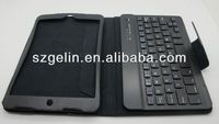 new with stand wireless bluetooth keyboard case for ipad mini
